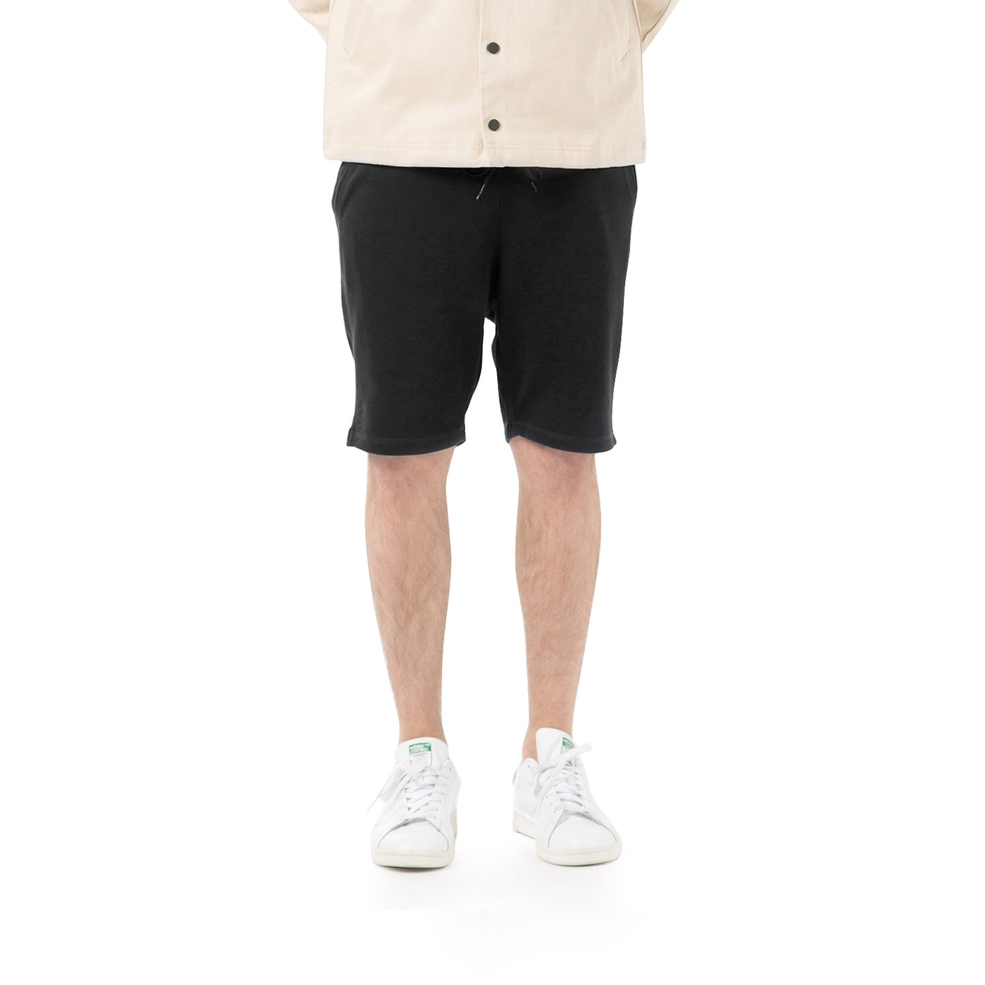 Index Terry Shorts - Black