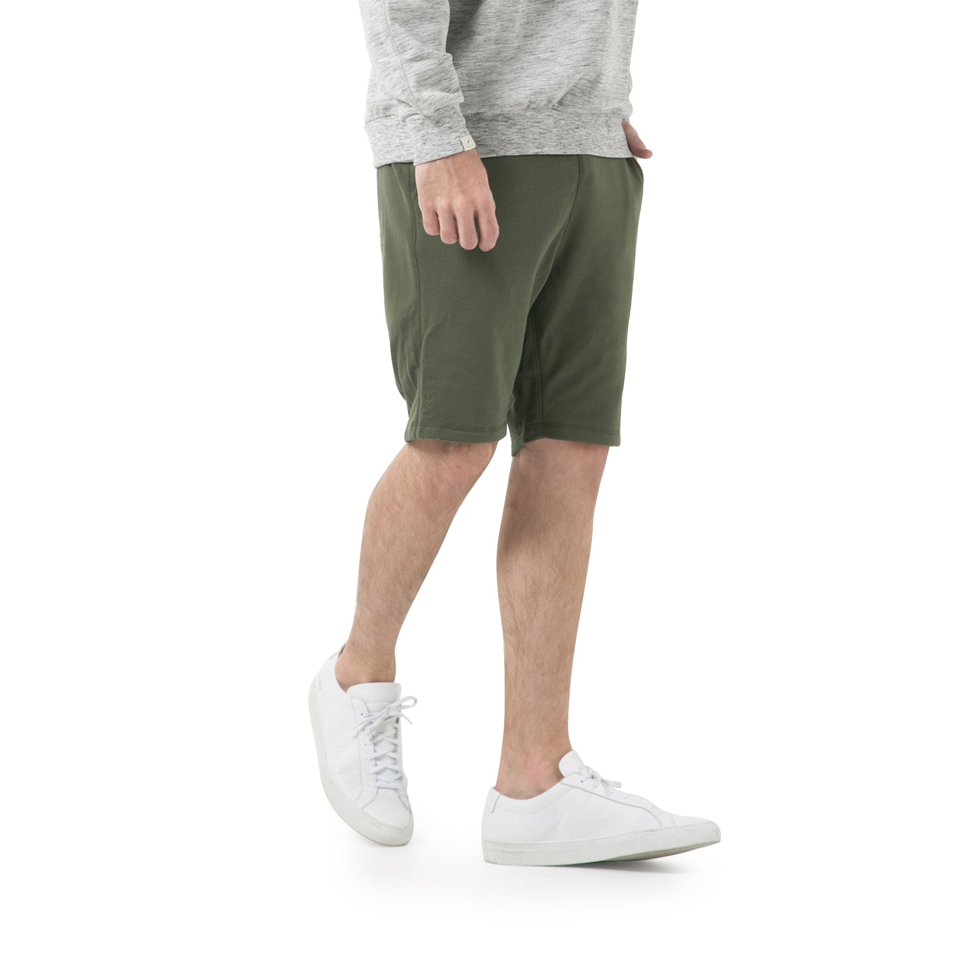 Index Terry Shorts - Olive