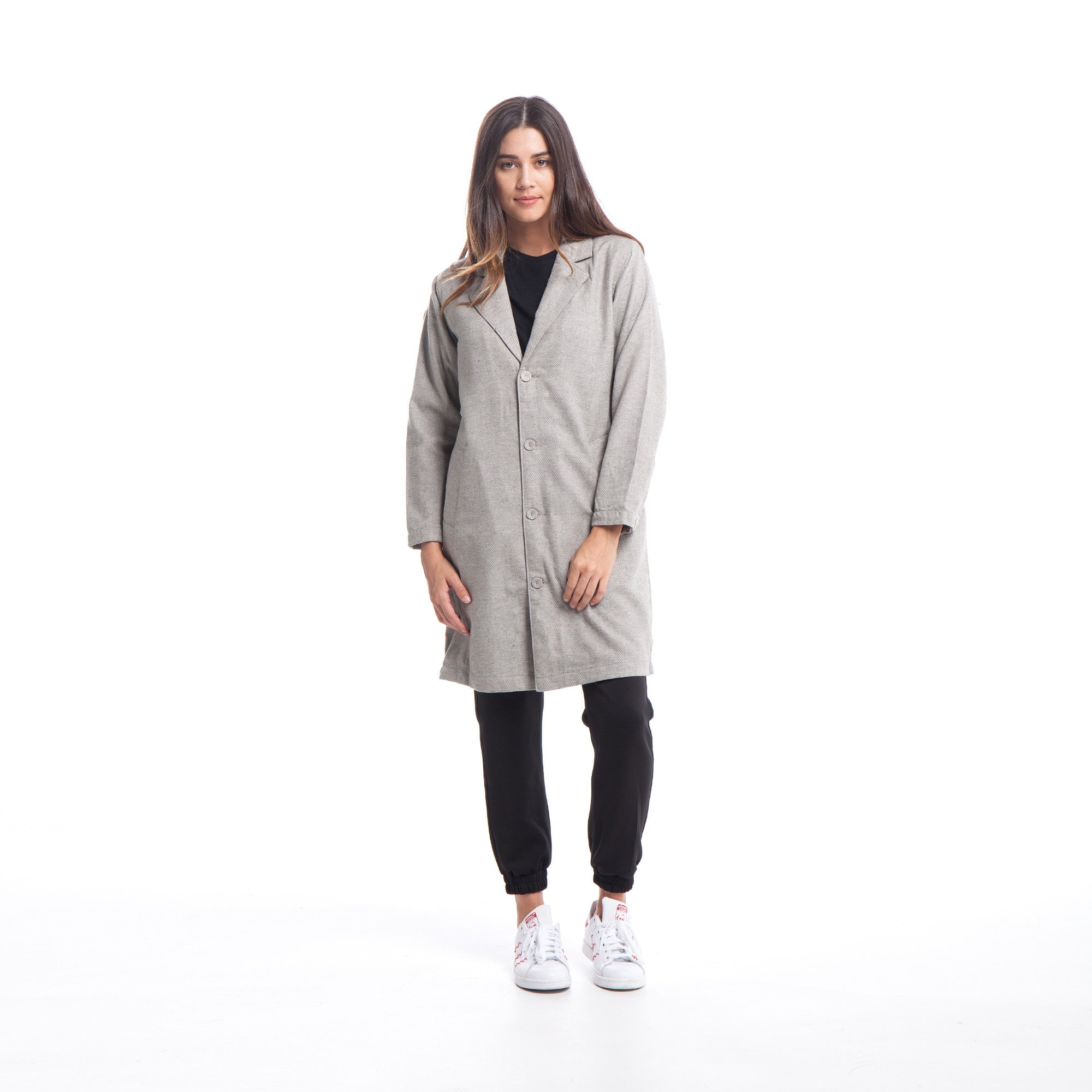 Vivien - Coat - Grey
