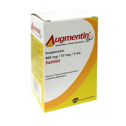 AUGMENTIN JR 12H SUSP 400 MG 60 ML