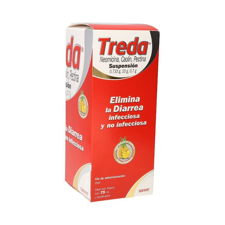 TREDA SUSPENSION PLATANO-PIÑA 75 ML
