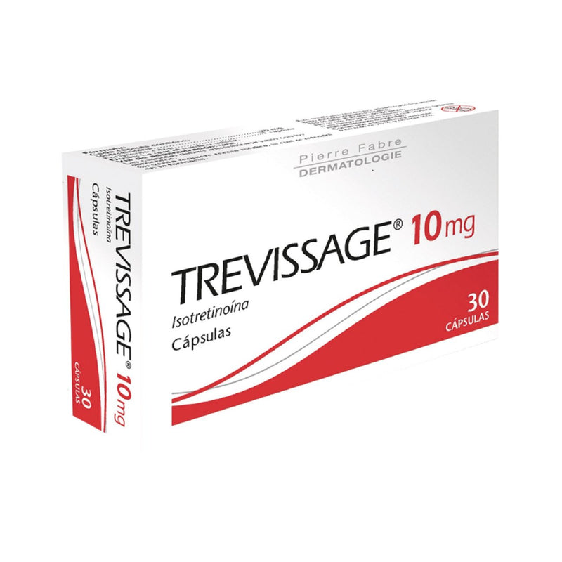 TREVISSAGE 10 MG C/30 CAPS