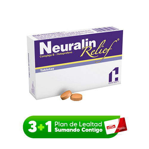 NEURALIN RELIEF C/20 TAB