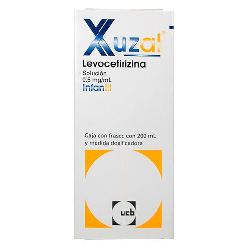 XUZAL SOL 0.5 MG INF 200 ML
