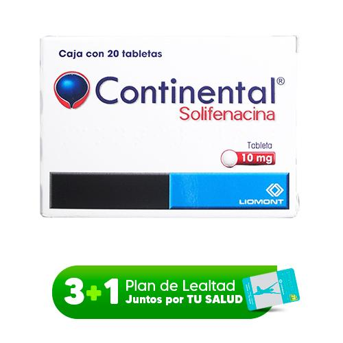CONTINENTAL 10 MG C/20 TABS