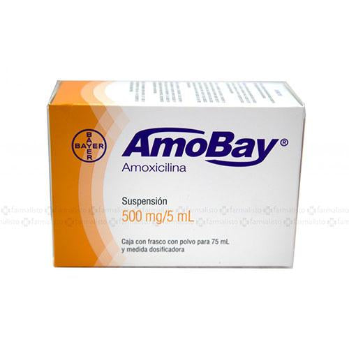 AMOBAY 500 MG SUSP 75 ML