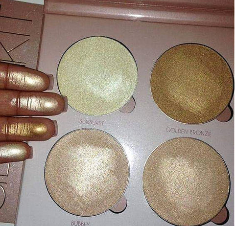 Miss Rose 4 Colors Glow Kit And Highlighter
