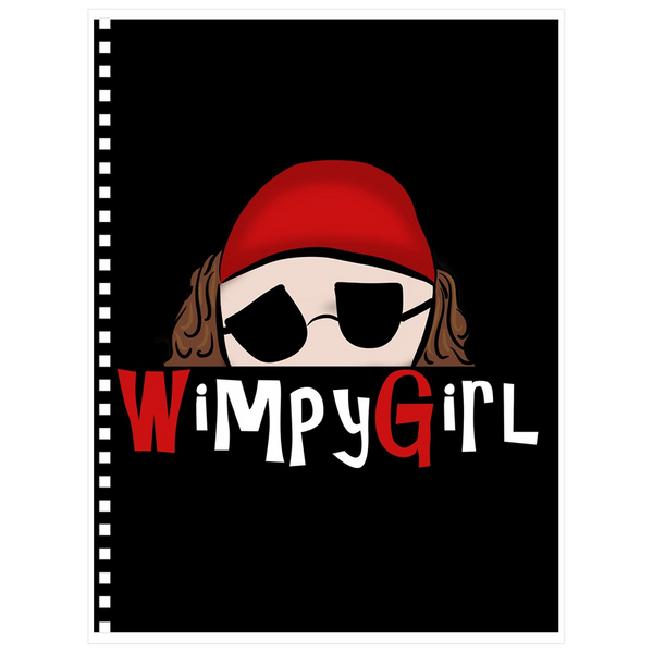 Wimpy Girl Notebooks