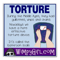 TORTURE ~ Wimpy Girl Magnet