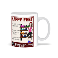 HAPPY FEET ~ Wimpy Girl Mug