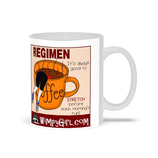 REGIMEN ~ Wimpy Girl Mugs