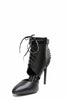 (ame) Laced up moto pumps - L.A. Roxx - 3