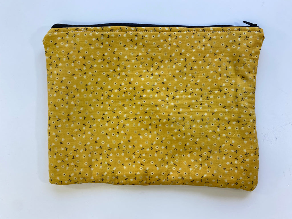 Medium Quilted Bag - Mustard - Farewell Frances