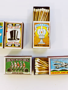 Vintage Matches - Farewell Frances