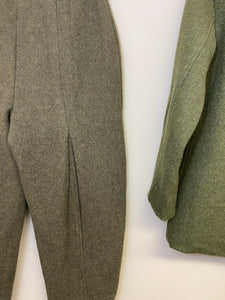 Gianna Wool Camp Blazer and Trouser