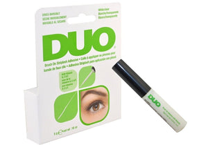 Duo Brush on Glue White/Clear