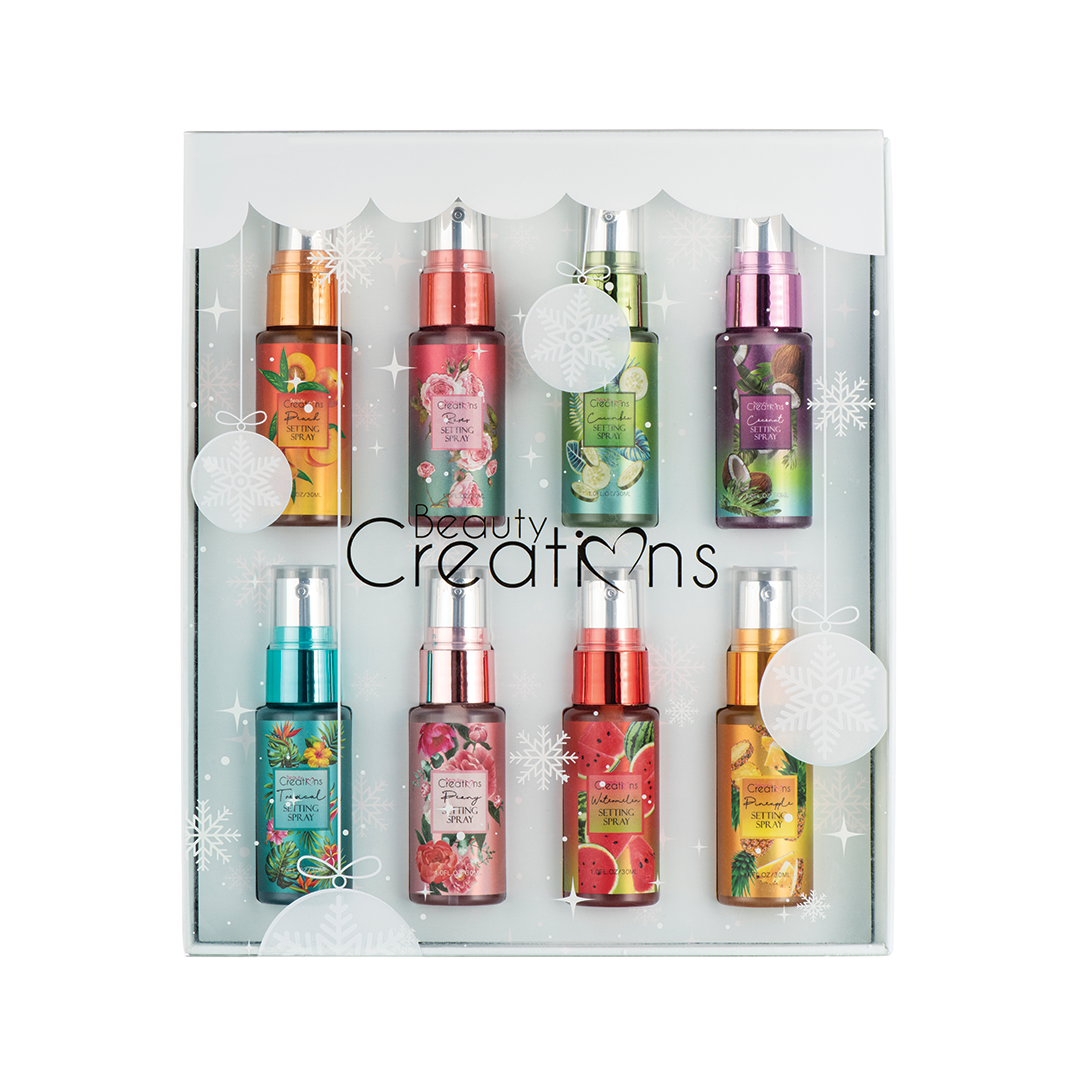 Beauty Creations Setting Spray Holiday Mini's