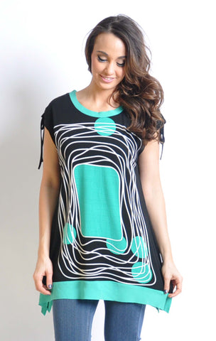 Graphic Printed Tunic
