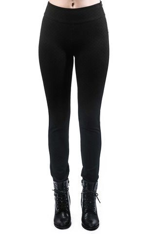 Black Side Zip Jeggings