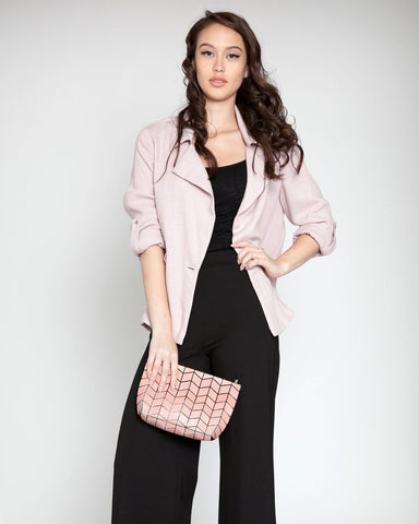 Linen Like Casual Blazer