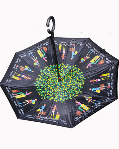 The Reverse Smart Umbrella