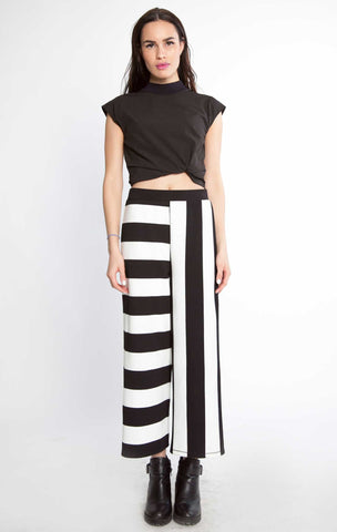 Different Lines Wide Leg Pants