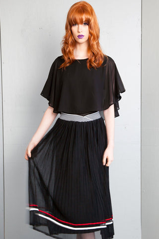 The Faux Caplet Blouse