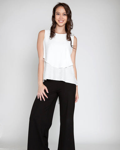 Two Tier Sleeveless Top