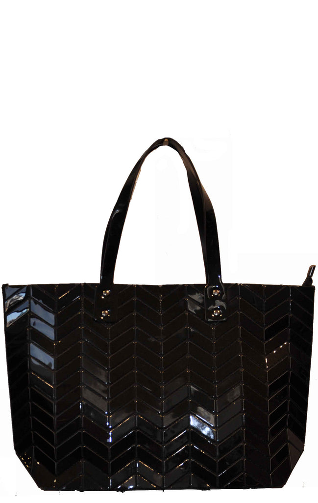 Herringbone Pattern Tote Bag