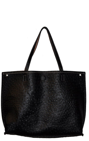 Two in One Reversible Embossed Tote