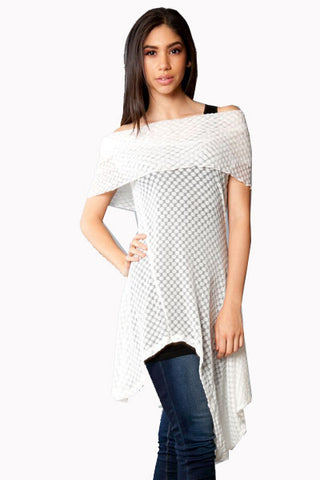 Burn Out Beauty Tunic