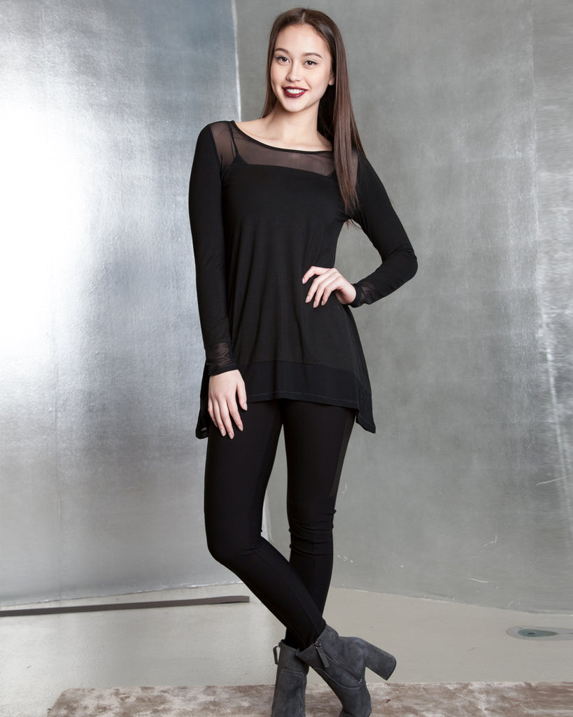 Mesh with me Aline Top - YT7204
