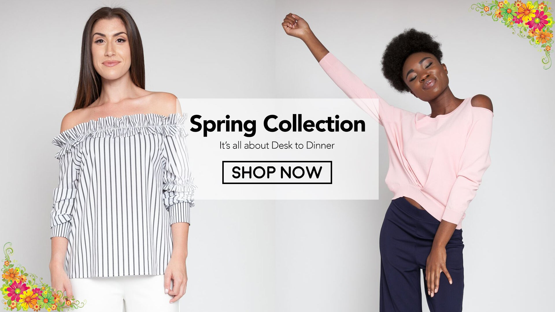 Spring Collection Banner