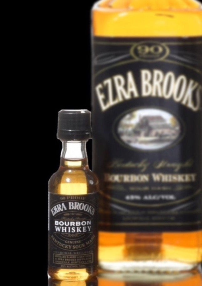 Ezra Brooks Bourbon mini 50ml