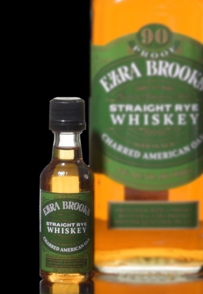 Ezra Brooks Rye mini 50ml