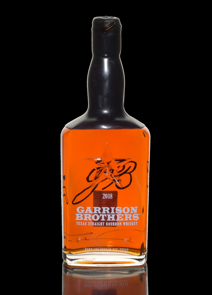 Garrison Brothers Texas Straight Bourbon Fall 2018