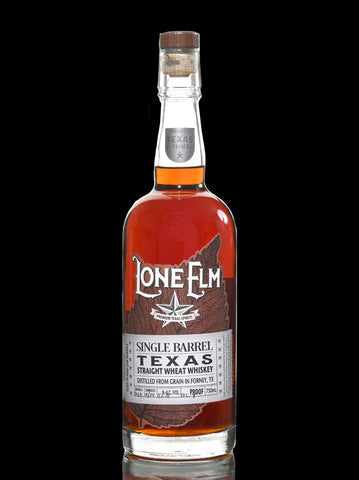 Lone Elm  single Barrel 53,4 % Straight Wheat from Texas