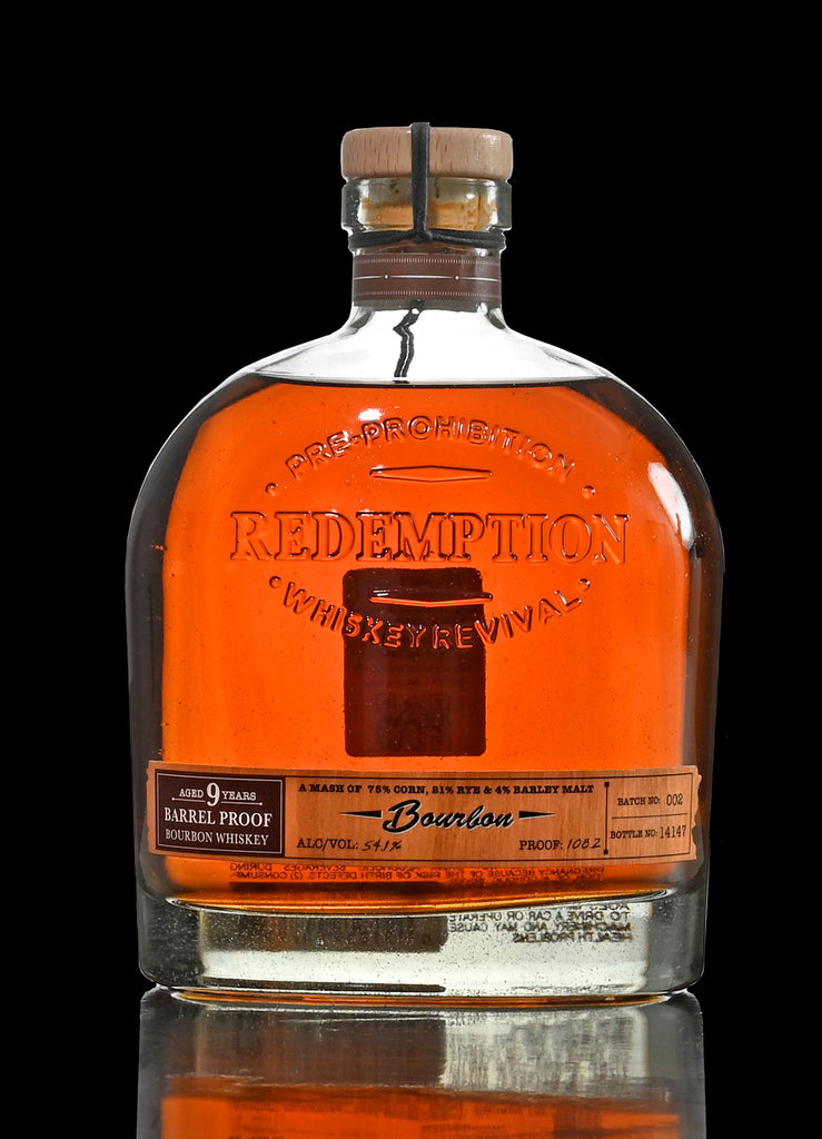 Redemption 9 Yr. Barrel Proof Bourbon