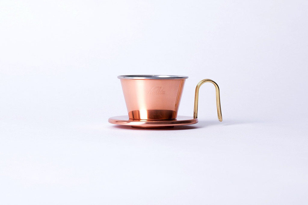 Kalita Wave Tsubame 155 Copper Dripper Kalita
