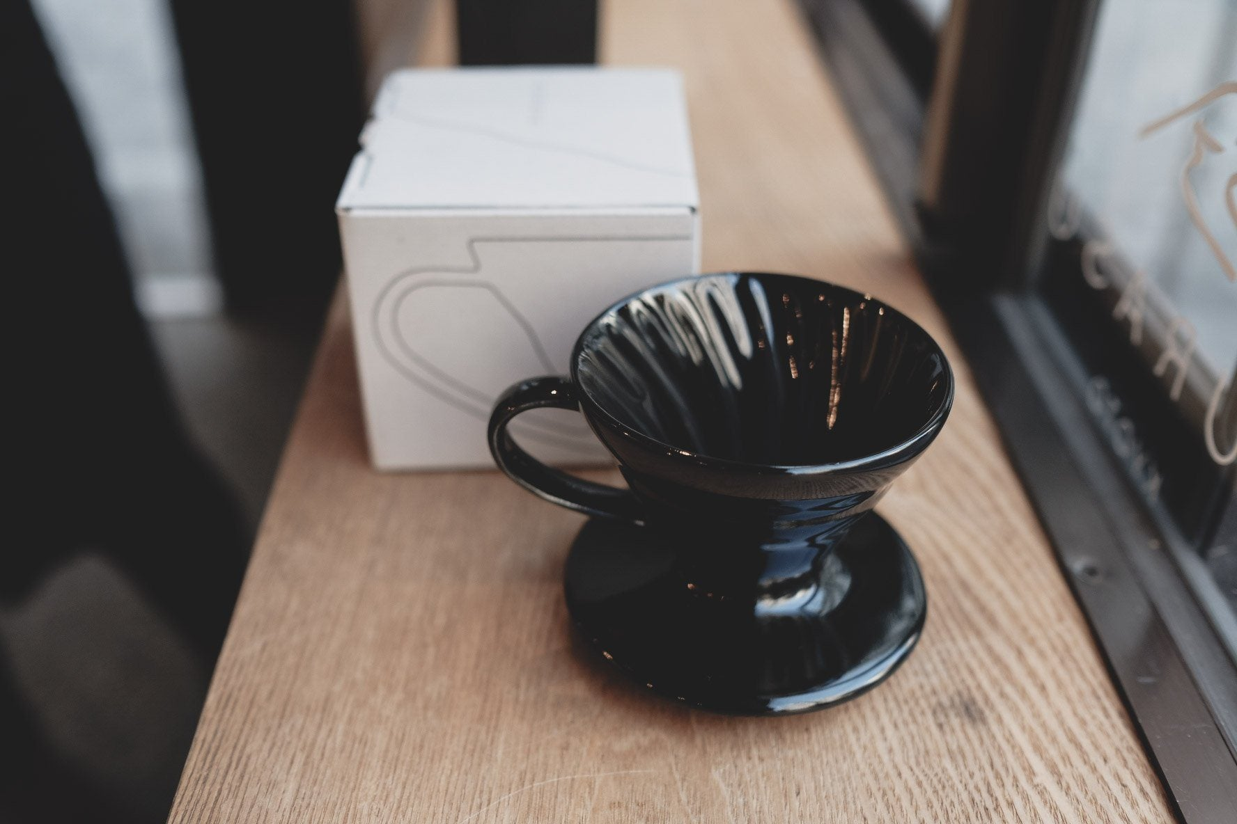 Ceramic Dripper Kurasu Original Black <1-2cups> Dripper Kurasu