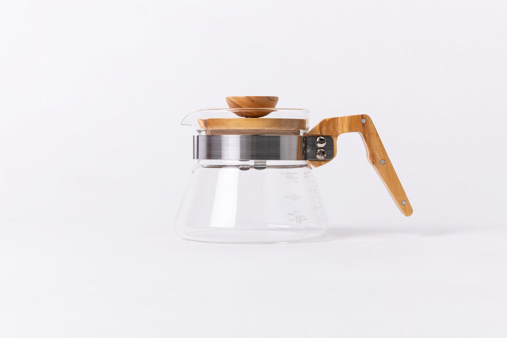 Hario Coffee Server - Olive Wood Handle 400ml Server Hario
