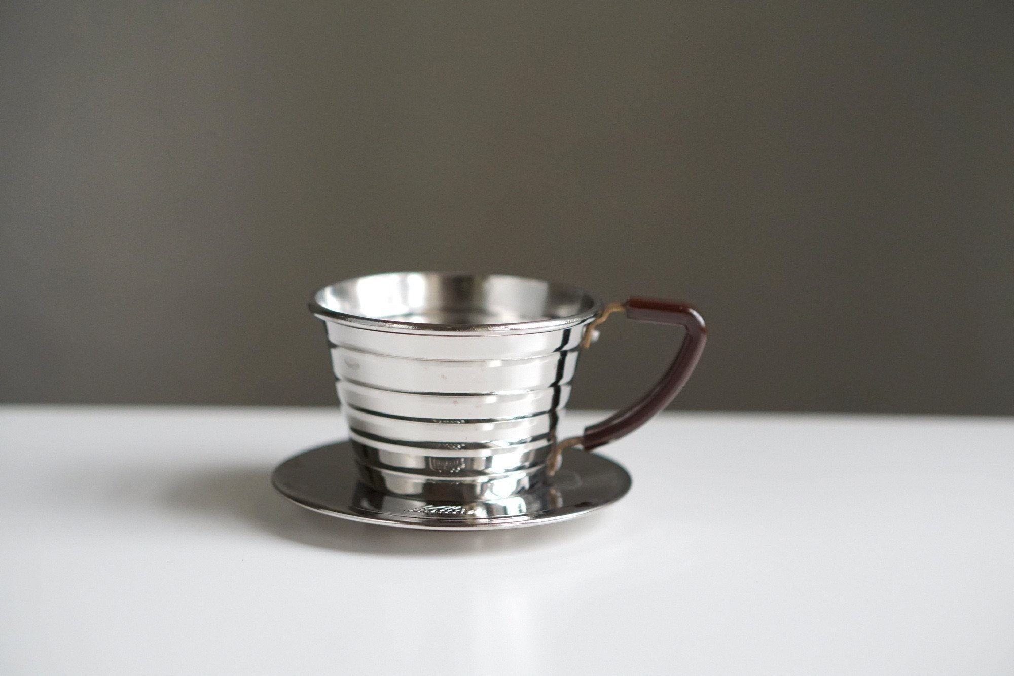 Kalita Wave #155 Stainless Steel Dripper Dripper Kalita #155 Kalita Stainless Steel Dripper