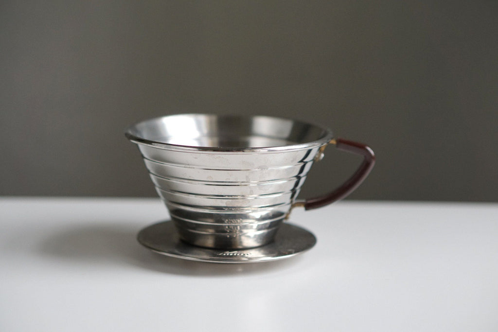 Kalita Wave #185 Stainless Steel Dripper Dripper Kalita #185 Kalita Stainless Steel Dripper