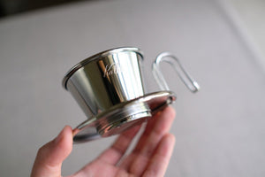 Kalita Wave Tsubame 155 Stainless Dripper Kalita