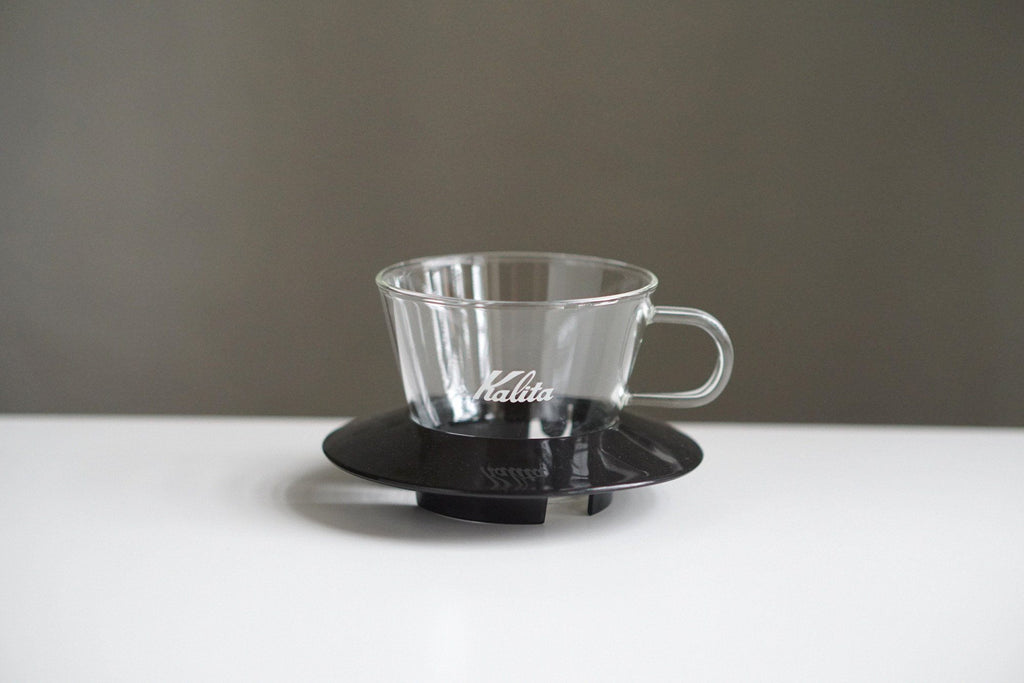 Kalita Wave #155 Glass Dripper Black Dripper Kalita #155 Kalita Glass Dripper Black