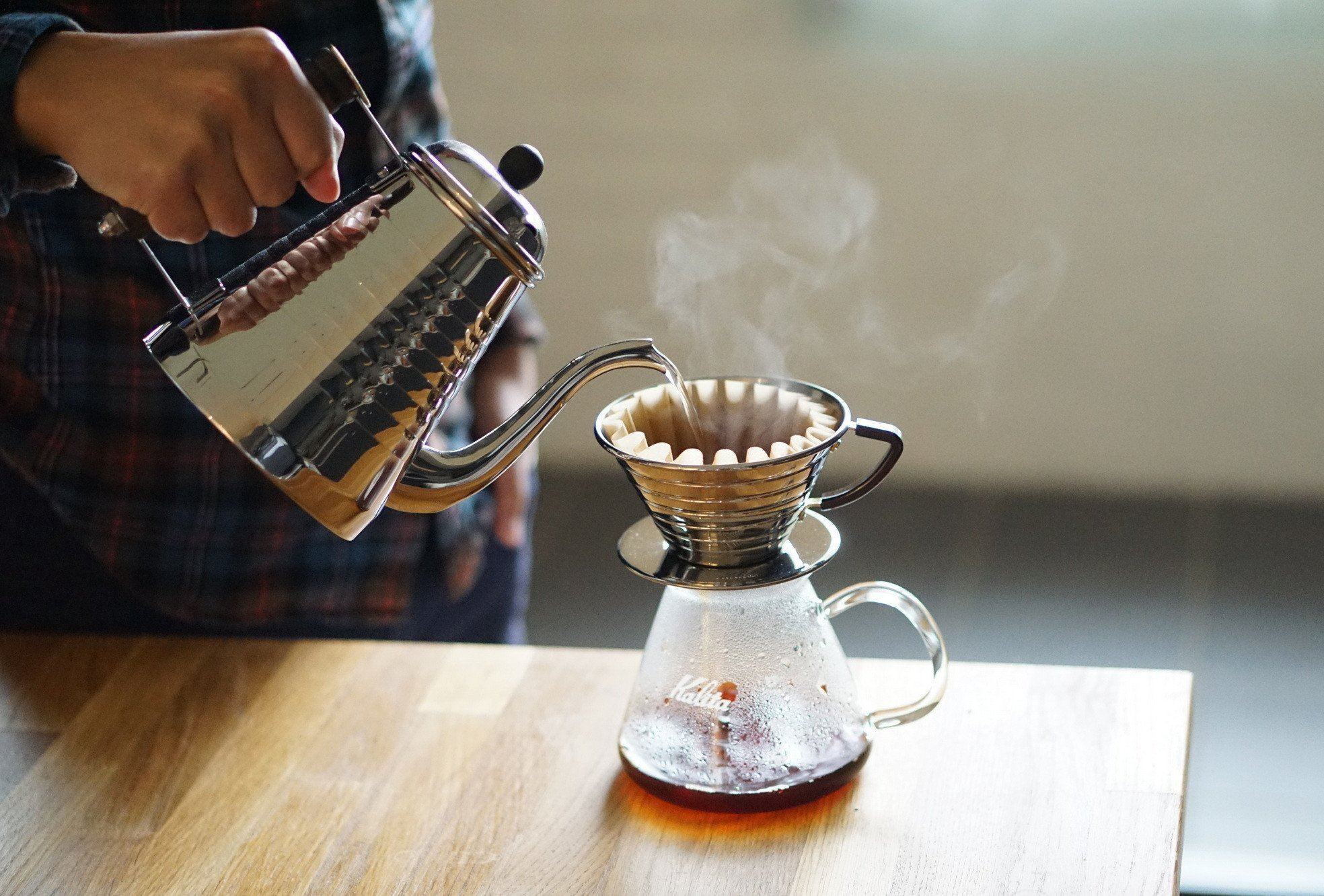 Kalita Wave #155 Stainless Steel Dripper Dripper Kalita
