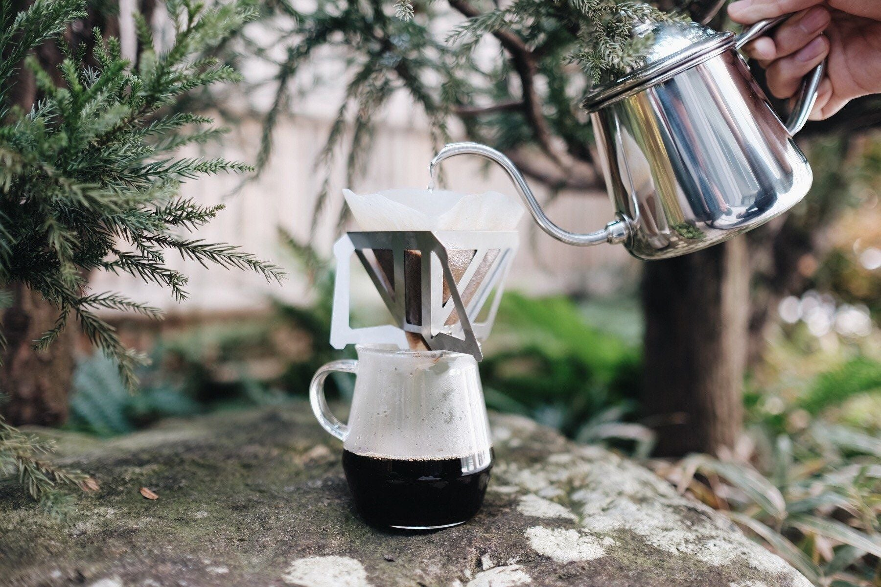 Munieq Tetra Dripper 02 Stainless Dripper Munieq
