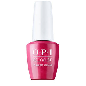 OPI Gel Color Hollywood Collection - 15 Minutes Of Flame
