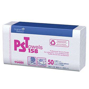 PS Towels 158 2-Ply Huck Finish (50/Box)