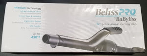 "BeLissPro BaByliss 3/4"" Curling Iron"